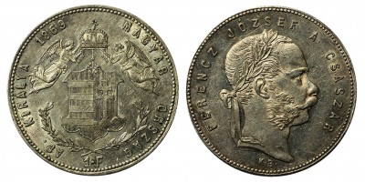 Ferenc József forint 1869 KB
