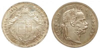 Ferenc József 1 Forint 1868 Artex