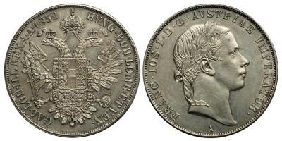 Ferenc József tallér 1852 A R!