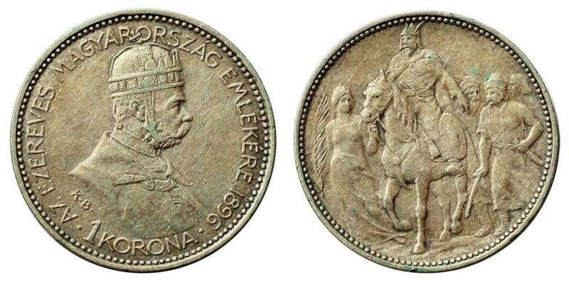 1 Korona 1896 KB