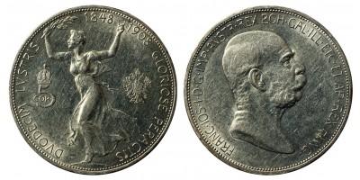 Ferenc József 5 korona 1908 vjn.