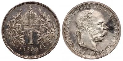 Ausztria 1 Korona 1899