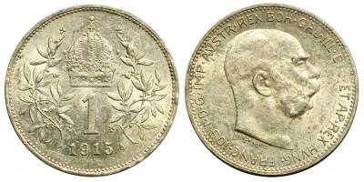 Ausztria 1 korona 1915