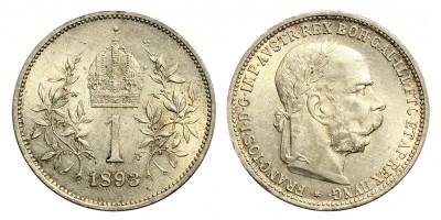 Ausztria 1 Korona 1893