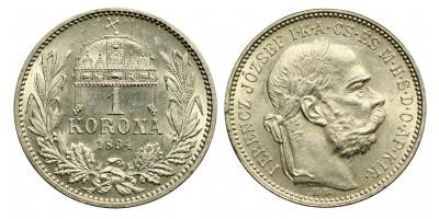 1 Korona 1894 KB.