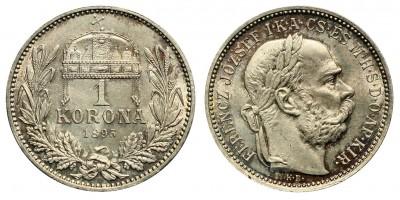 1 Korona 1895 KB.