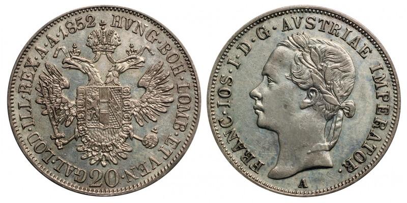Ferenc József 20 krajcár 1852 A