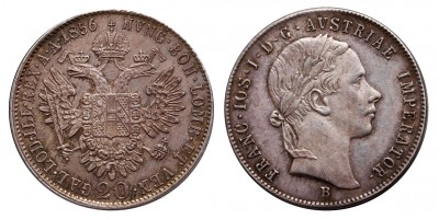 Ferenc József 20 krajcár 1856 B
