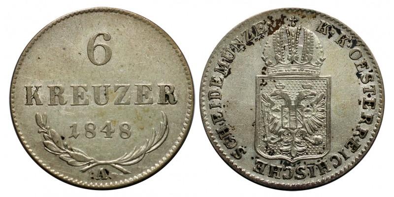 Ausztria 6 krajcár 1848 A