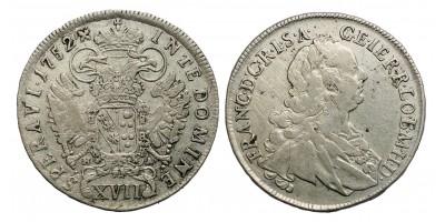 Lotharingiai Ferenc XVII krajcár 1752 H-A