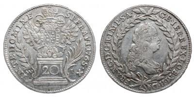 20 krajcár 1765 Bécs