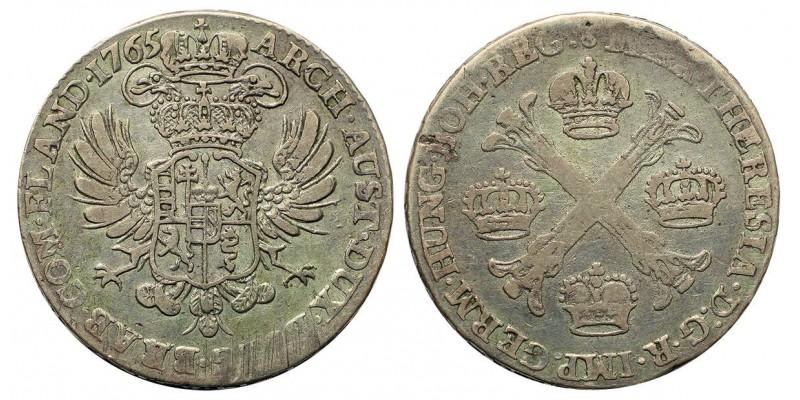 Mária Terézia 1/2 korona Tallér 1765