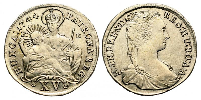 Mária Terézia 15 krajcár 1744 KB