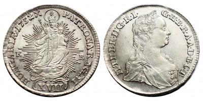 Mária Terézia XVII krajcár 1752 KB