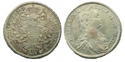 Mária Terézia 15 Krajcár 1749 Wien