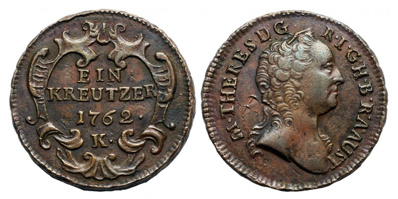 Mária Terézia 1 krajcár 1762 K