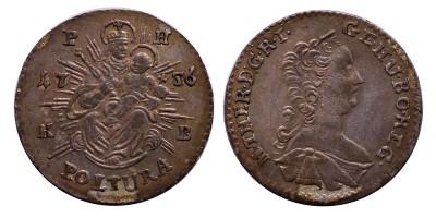 Mária Terézia poltura 1756 KB.