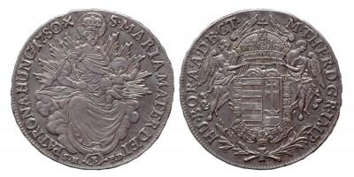 Mária Terézia 1/2 tallér 1780 B