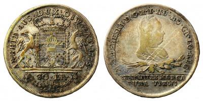 Mária Terézia 30 krajcár 1775 I.C.F.A