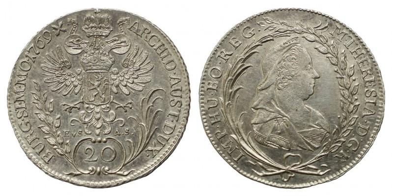 20 krajcár 1769 E.V.S-A.S.