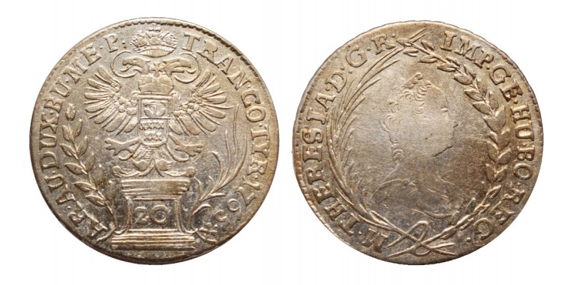 20 krajcár 1765
