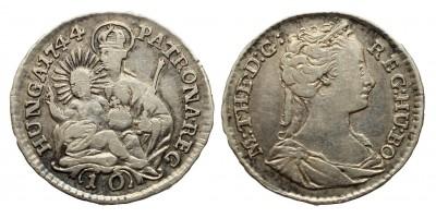Mária Terézia 10 denár 1744