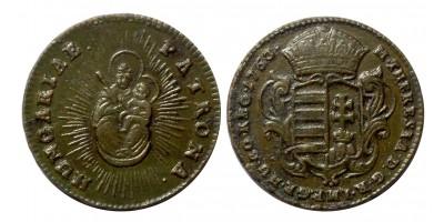 Mária Terézia rézkrajcár 1763