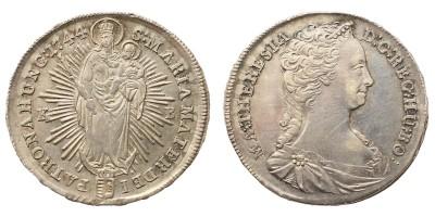 Mária Terézia fél tallér 1744 KB