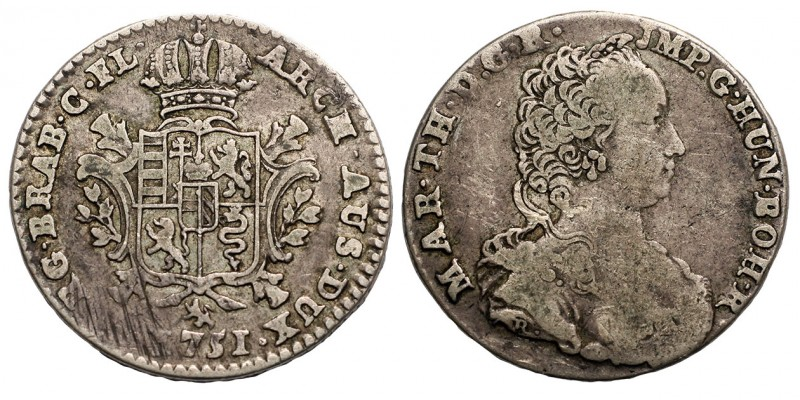 1/4 Ducaton 1751