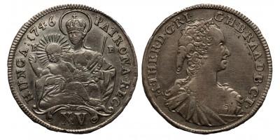 Mária Terézia XV krajcár 1746 KB