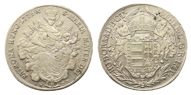Mária Terézia  Tallér 1779 B/S.K.P.D