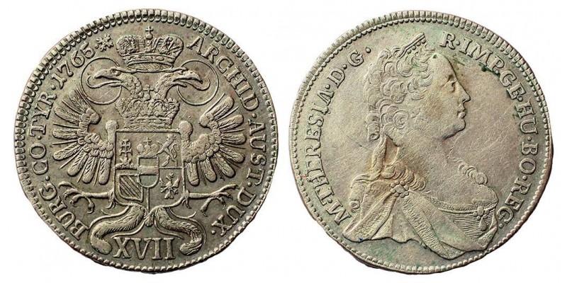 Mária Terézia XVII krajcár 1765
