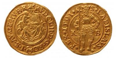 Rudolf dukát 1591 KB