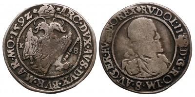 Rudolf  1/4 tallér 1592 KB.