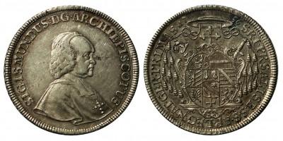Salzburgi Érsekség tallér 1756