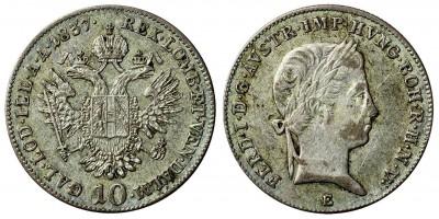 V.Ferdinánd 10 krajcár 1837 E