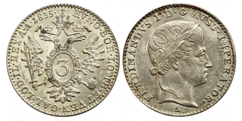 V. Ferdinánd 3 krajcár 1835 A