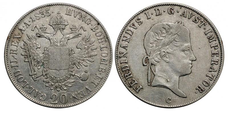 V. Ferdinánd 20 krajcár 1835 C
