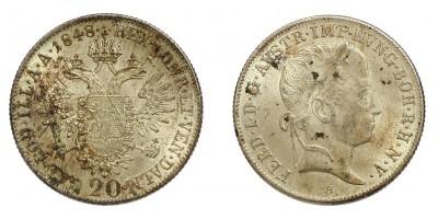 V.Ferdinánd 20 krajcár 1848 A