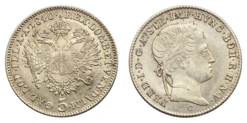 V. Ferdinánd 5 krajcár 1840 C