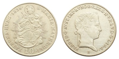V.Ferdinánd 10 krajcár 1838 B