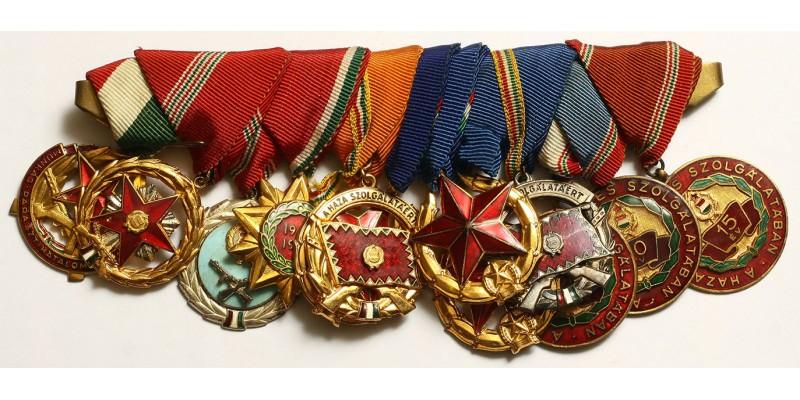 Kádár kitüntetés sor