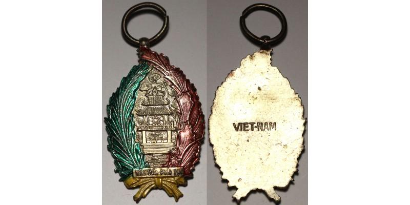 Dél-Vietnam Kulturális és Oktatási Szolgálati Érem 1968 R!