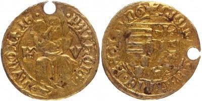 I. Mátyás 1458-90 garas K-V