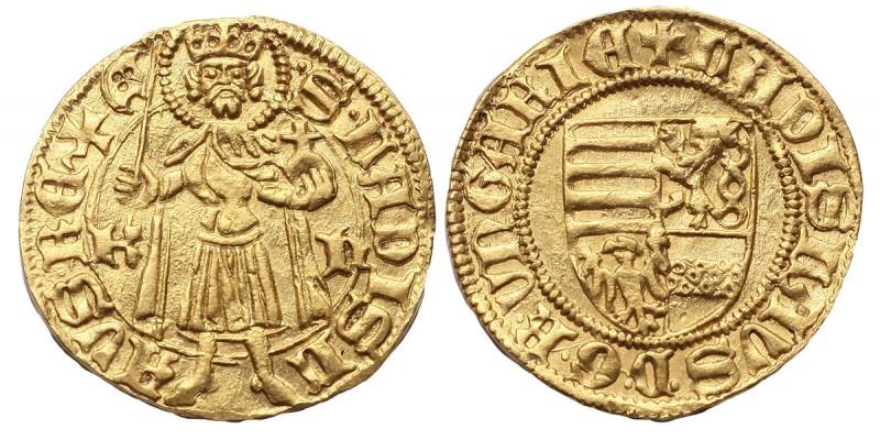 V. László 1440/1453-57 aranyforint ÉH 519