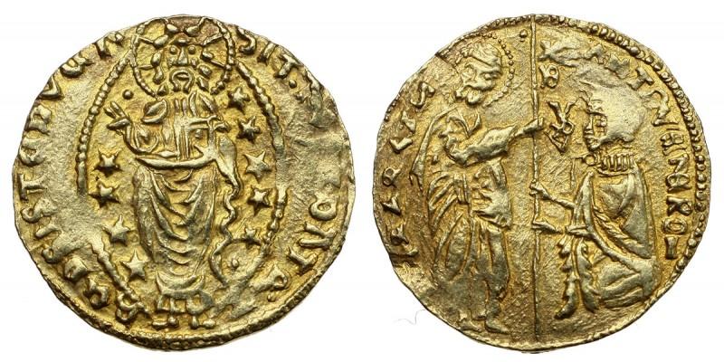 Keresztesek Chios Antonio Venier 1382-1400 zecchino R!