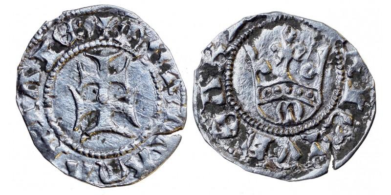 Mária 1382-87/95 denár ÉH 443