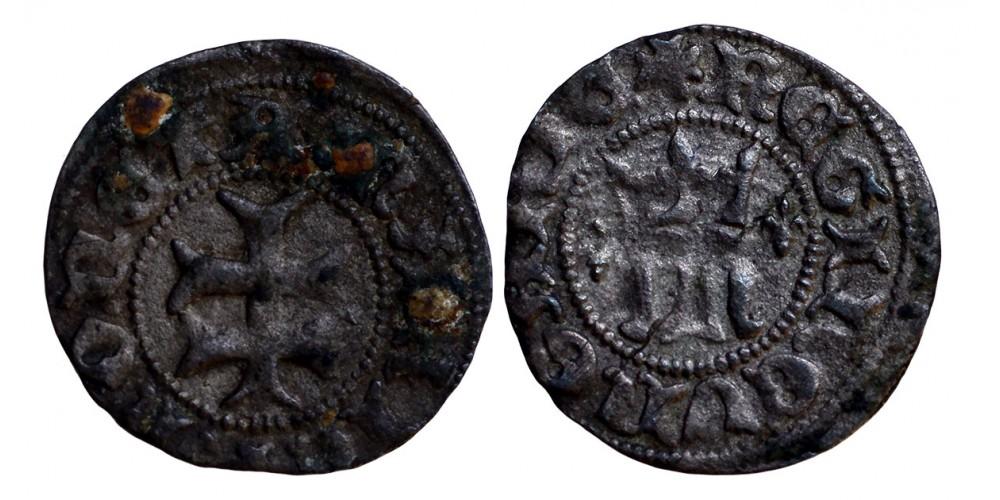 Mária 1382-87/1395 denár ÉH 442