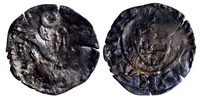Károly Róbert 1307-42 denár ÉH 385 R!