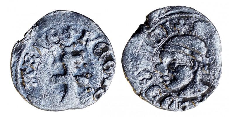 I. Lajos 1342-82 denár ÉH 432